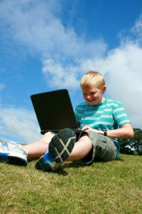 child laptop Lifestyle Design
