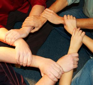 linked hands Secrets of Outsourcing