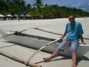 chris in boracay 300x225 Interview with Nomad4Ever, Christian Skoda