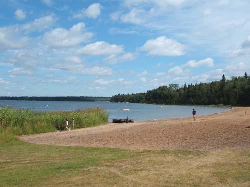 Madge Lake near Kamsack