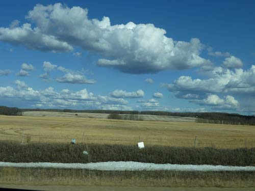 Skies are Huge in Central Canada