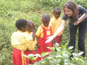 Uganda- Visiting Schools with Project Disc (Slow Food International)