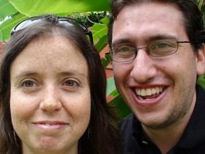 Bernie and Dani in Zambia