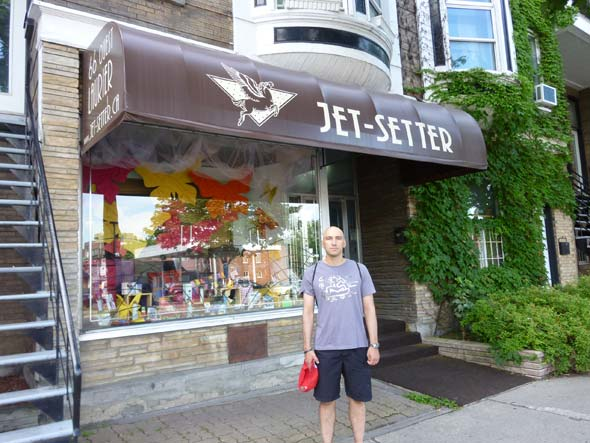 Jet Setter in Montreal