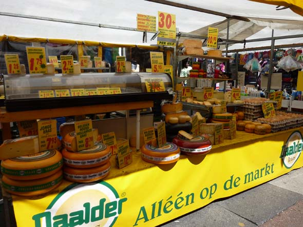 Cheese in the Amsterdam Market