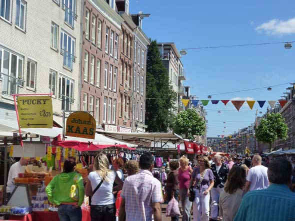 Crowds at an Amsterdam Market