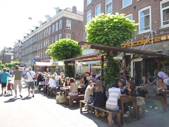 Outdoor Cafes Everywhere