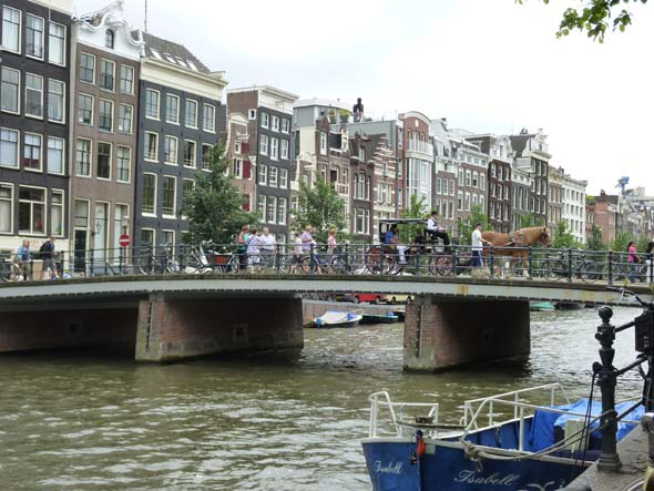 Downtown Amsterdam