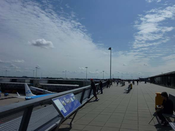 Rooftop Terrace at the Airport