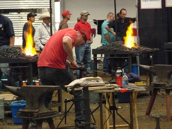 Blacksmith Competition.