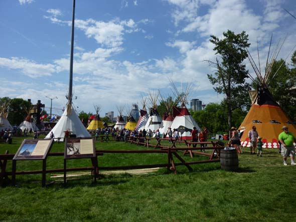 Indian Village at the Calgary Stampede