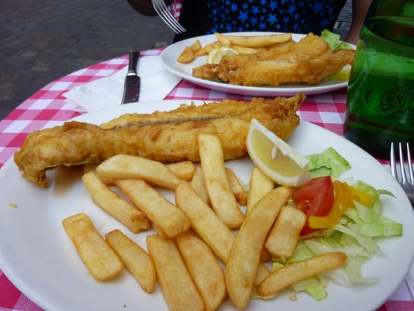 Fish 'n Chips in London