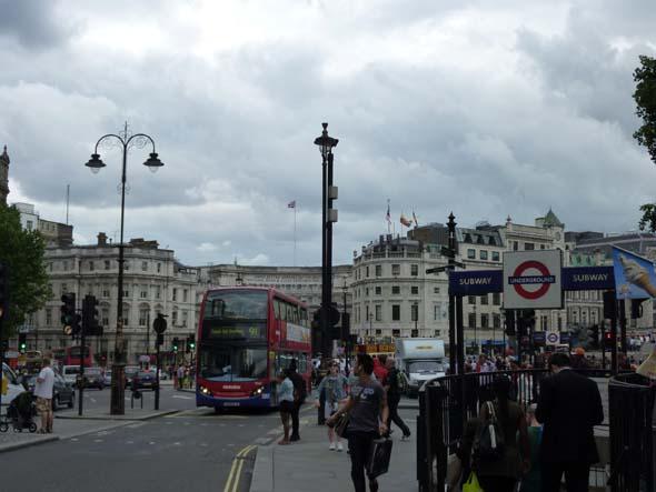 Narrow streets of London