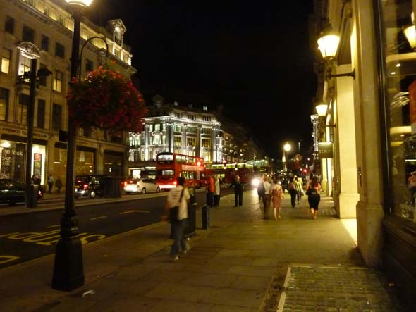 London Streets at Night