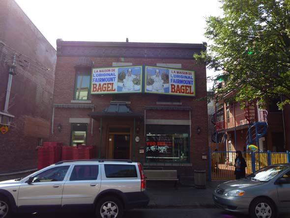 Fairmount Bagels in Montreal