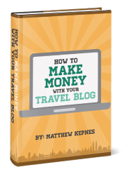 Make Money with Your Travel Blog - Nomadic Matt