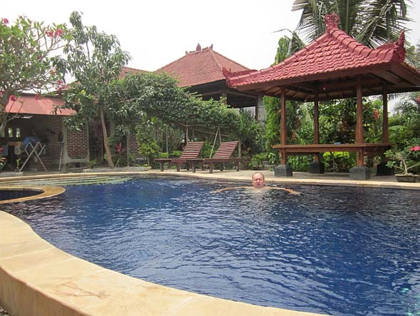 What it is like to run a guest house in Bali.
