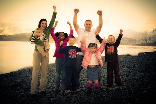Denning Family in Alaska