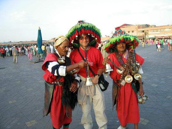 Alex Perez in Morocco