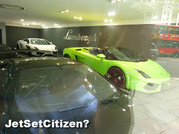Lamborghini Forget Jet Setting   Here is a real JetSetCitizen