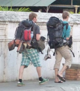 Backpacking with a backpack is crazy