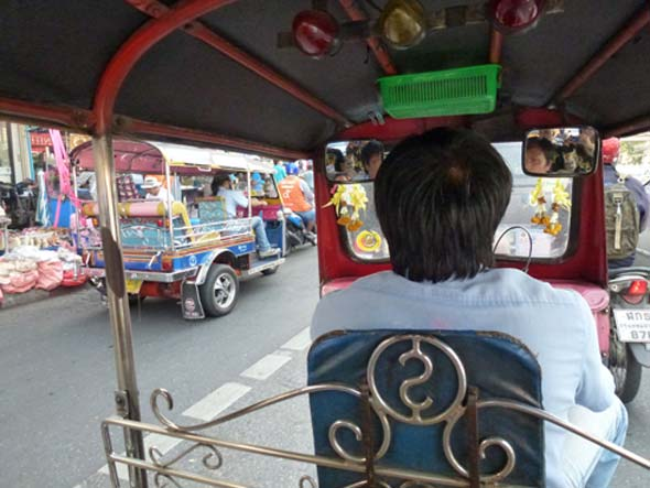 tuk tuk Live in Thailand on $500 per month