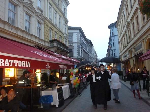 Ráday utca, Cafe street