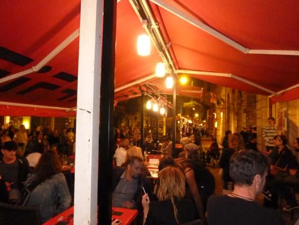 Night time at Ráday utca
