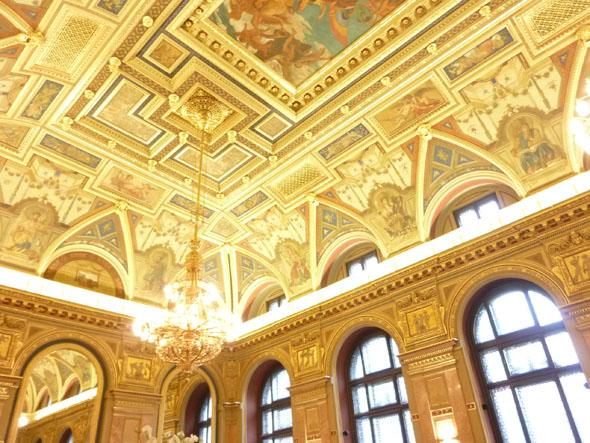 Budapest Cafe Ceiling