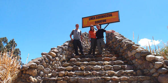 Overlander Trip at the Equator