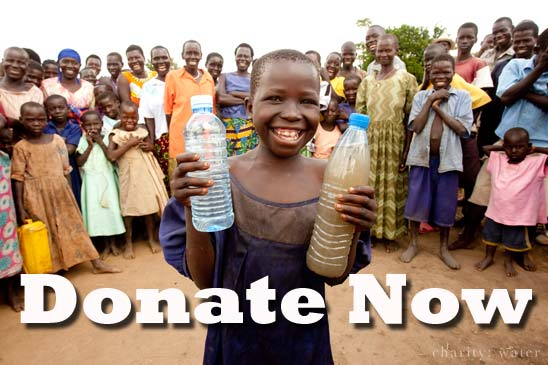 Donate to CharityWater.org
