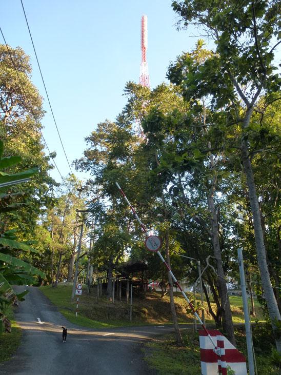 Doi Suthep HikeTV tower behind CMU
