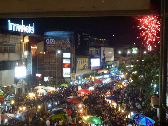 Countdown New Year Eve07 Happy New Year from Digital Nomad Central   Chiang Mai Thailand