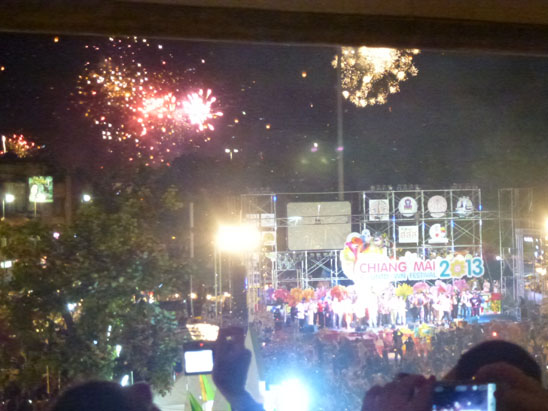 Happy New Year 2013 Chiang Mai