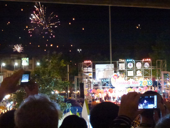 Happy New Year 2013 at the Tha Phae Gate