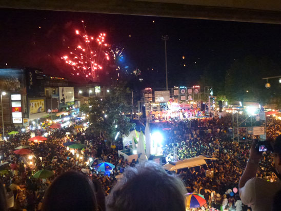 Countdown New Year Eve11 Happy New Year from Digital Nomad Central   Chiang Mai Thailand