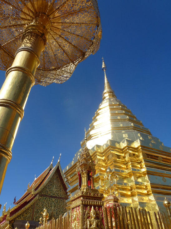 Wat Phrathat Doi Suthep Hiking Doi Suthep in Chiang Mai