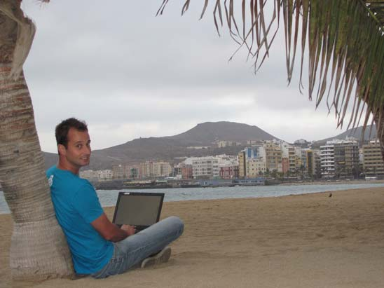 Digital Nomad Andre Gussekloo