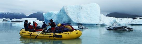 Alsek Lake Rafting Yukon