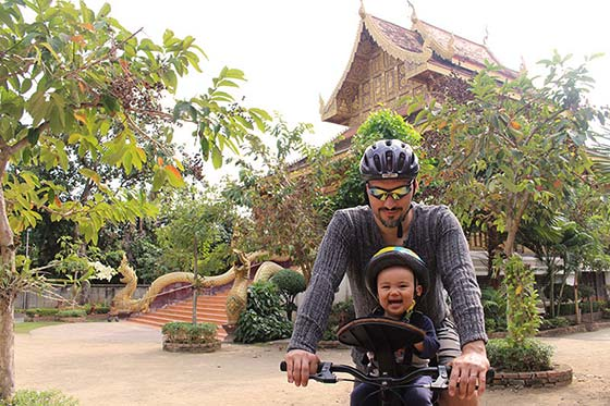 Biking in Thailand